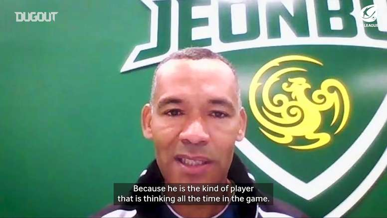 José Morais on what makes Oscar so good. DUGOUT