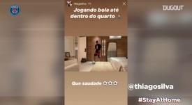 Les stories du jour avec Thiago Silva et Sarabia. VIDÉO
