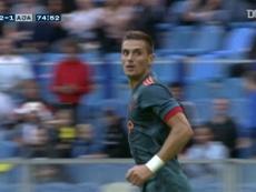 Dusan Tadic got Ajax a draw at Vitesse back in 2019. DUGOUT