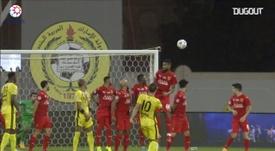 A second half goal gave Ittihad Kalba a 1-0 win. DUGOUT