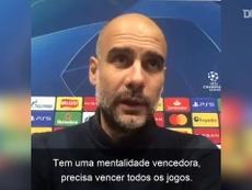 Guardiola celebra 'paciência' do City para vencer o Porto. DUGOUT
