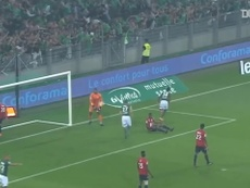 St Etienne thrashed Lille 5-0 in Ligue 1 back in 2017/18. DUGOUT