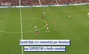 La trasformazione di Bale. Dugout