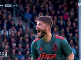 Ajax fatura Campeonato Holandês de 2018/19. DUGOUT
