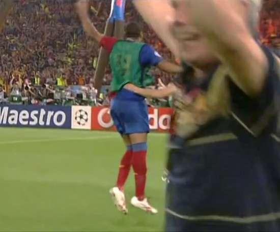 Barça ergue a taça da Champions ao bater o United em 2009. DUGOUT