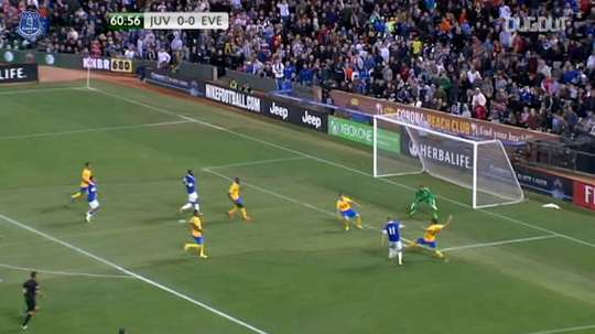 VIDEO: Everton enjoy penalty win over Juventus. DUGOUT
