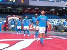 Napoli thrashed Genoa 6-0 at the San Paolo in Serie A. DUGOUT
