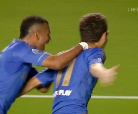 Oscar netted twice as Chelsea beat Juventus 2-0 at Stamford Bridge. DUGOUT