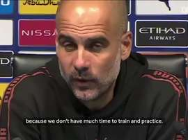 Pep speaks about fixture congestion