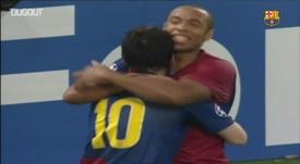 La terza Champions del Barcellona. Dugout
