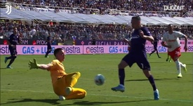 Szczesny has made some great saves for Juventus. DUGOUT