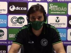 Técnico do Goiás falou após empate por 2 a 2 com Ceará. DUGOUT