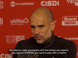 Pep said that City have got worse. DUGOUT