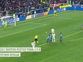 Le reti della Juventus agli ottavi. Dugout