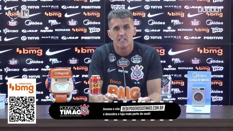 Mancini promete um Corinthians mais agressivo na Copa do Brasil. DUGOUT