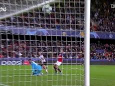 Ferrán Torres, decisivo na Champions. DUGOUT
