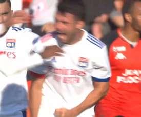 Le superbe but de Dubois contre Lorient. Dugout