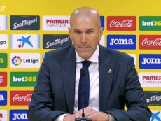 Zidane was disappointed not to get three points v Villarreal. DUGOUT