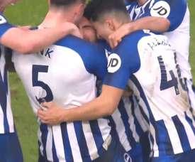 Jahanbakhsh scored a stunning goal for Brighton v Chelsea. DUGOUT
