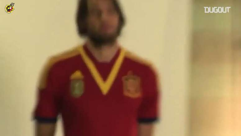Michu played one match for Spain. DUGOUT