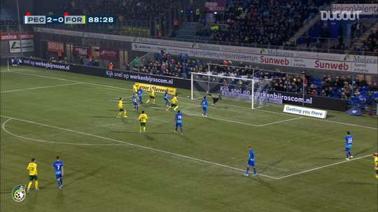 Damascan has scored some key goals for Sittard during the 2019-20 season. DUGOUT