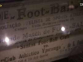 Vila Belmiro, o templo do futebol. DUGOUT