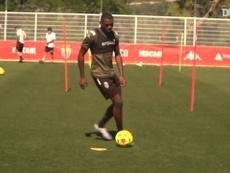 VIDÉO : retour sur les terrains pour les joueurs de Monaco. Dugout