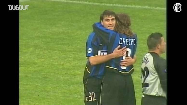 Christian Vieri scored four for Inter. DUGOUT