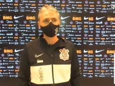 Tiago Nunes exalta solidez do setor defensivo do Corinthians. DUGOUT