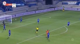 Al Nasr beat Ajman 3-0 in the UAE league. DUGOUT
