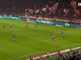 Robert Lewandowski has set a record goalscoring tally for Bayern Munich this term. DUGOUT