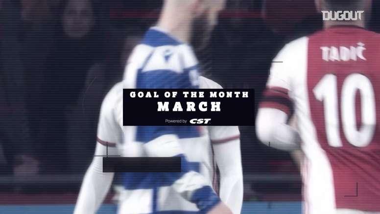 Lo mejor del Ajax en el mes de marzo. DUGOUT