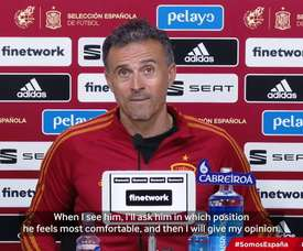 Luis Enrique: 'I can see Marcos Llorente playing in any position'. DUGOUT