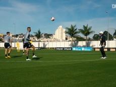 Corinthians avança em treinos coletivos. DUGOUT