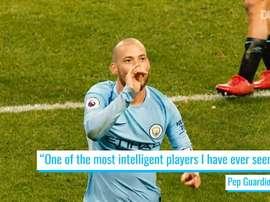 Silva is a City legend. DUGOUT