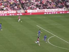 Le superbe but en solitaire de Walters contre Chelsea. DUGOUT