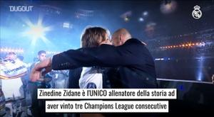 Zidane ha fatto la storia. Dugout