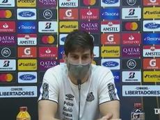Zagueiro falou sobre seu futuro no Santos. DUGOUT