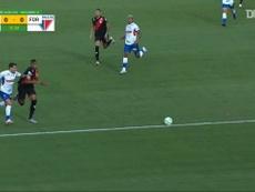 Atletico GO beat Fortaleza 2-0 in a Brasileirao clash. DUGOUT