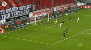 Lewandowski metió un golazo. DUGOUT