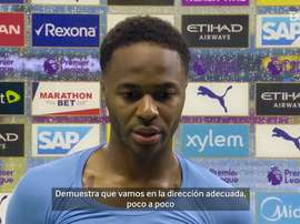 Sterling, satisfecho con el apoyo recibido en la lucha contra el racismo. DUGOUT