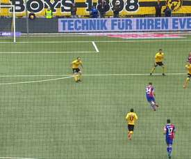 Le but sublime de Taulant Xhaka contre les Young Boys. DUGOUT