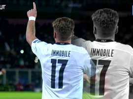 Ciro Immobile has netted 10 times for his country Italy. DUGOUT