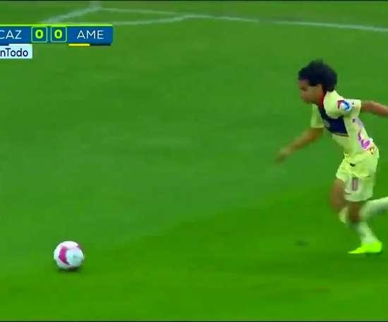 Les meilleurs moments de Diego Lainez avec Club America. DUGOUT