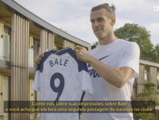 Bergwijn elogia chegada de Bale no Tottenham em entrevista à Dugout. DUGOUT