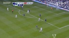 Le dernier but de Bale avec Tottenham. DUGOUT