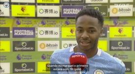 Sterling espera quebrar marca pessoal de gols na Premier League. DUGOUT