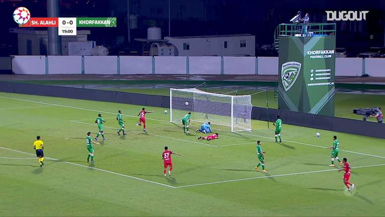Khorfakkan got a 2-2 draw with Al-Ahli in the UAE league. DUGOUT