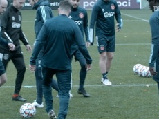 Behind the scenes: Ajax edged out by Liverpool in Champions League. DUGOUT