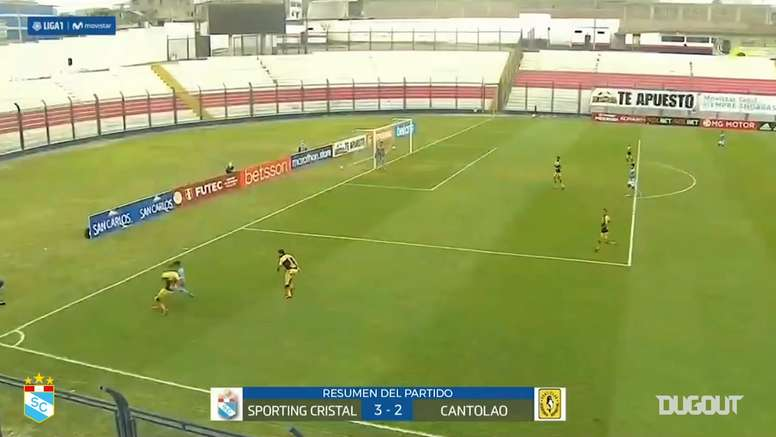 Jhon Marchan's great header goal vs Academia Cantolao. DUGOUT